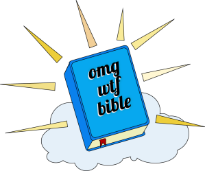 OMGWTFBIBLE Logo